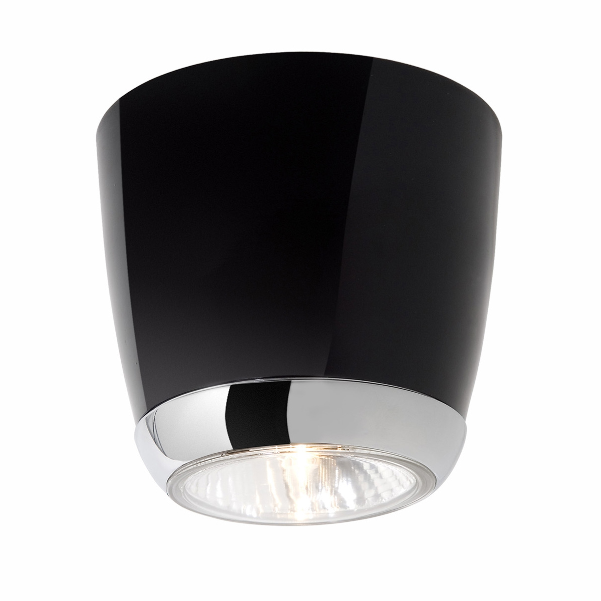 downlight deckenspot im vintage stil der 60er jahre mit reflektor leuchtmittel. Black Bedroom Furniture Sets. Home Design Ideas
