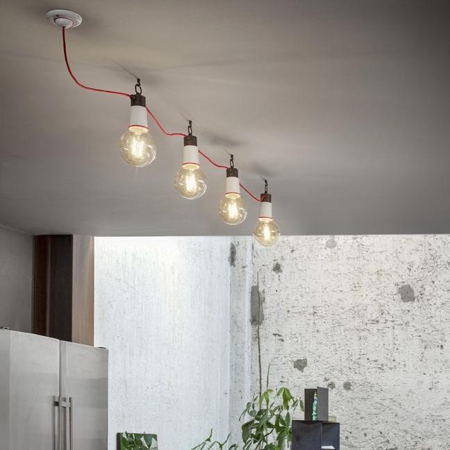 Schicke und raffinierte Lichtlösung: Beleuchtungssystem auf Deckenspots