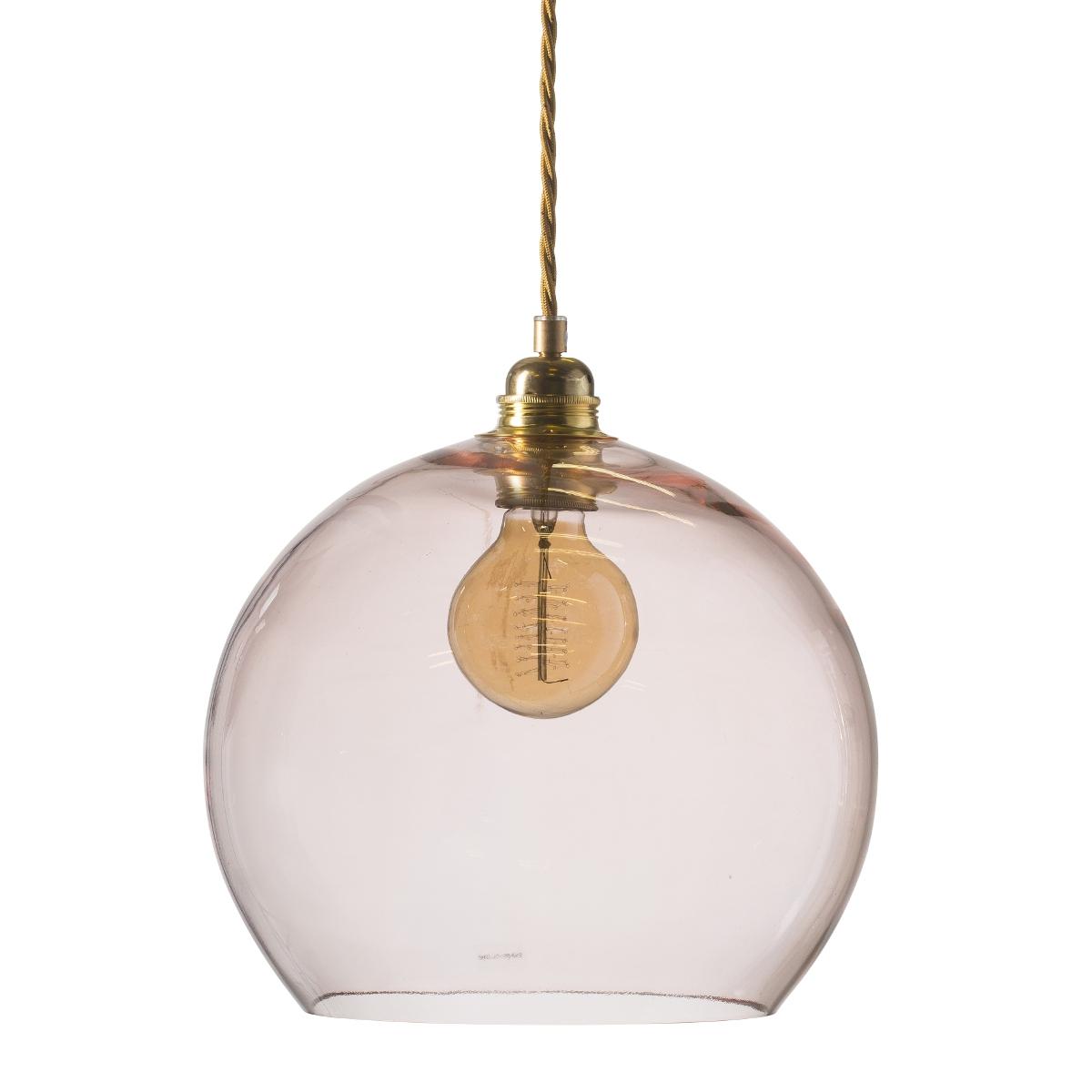 gro e und elegante kugelf rmige pendelleuchte aus farbigem glas. Black Bedroom Furniture Sets. Home Design Ideas