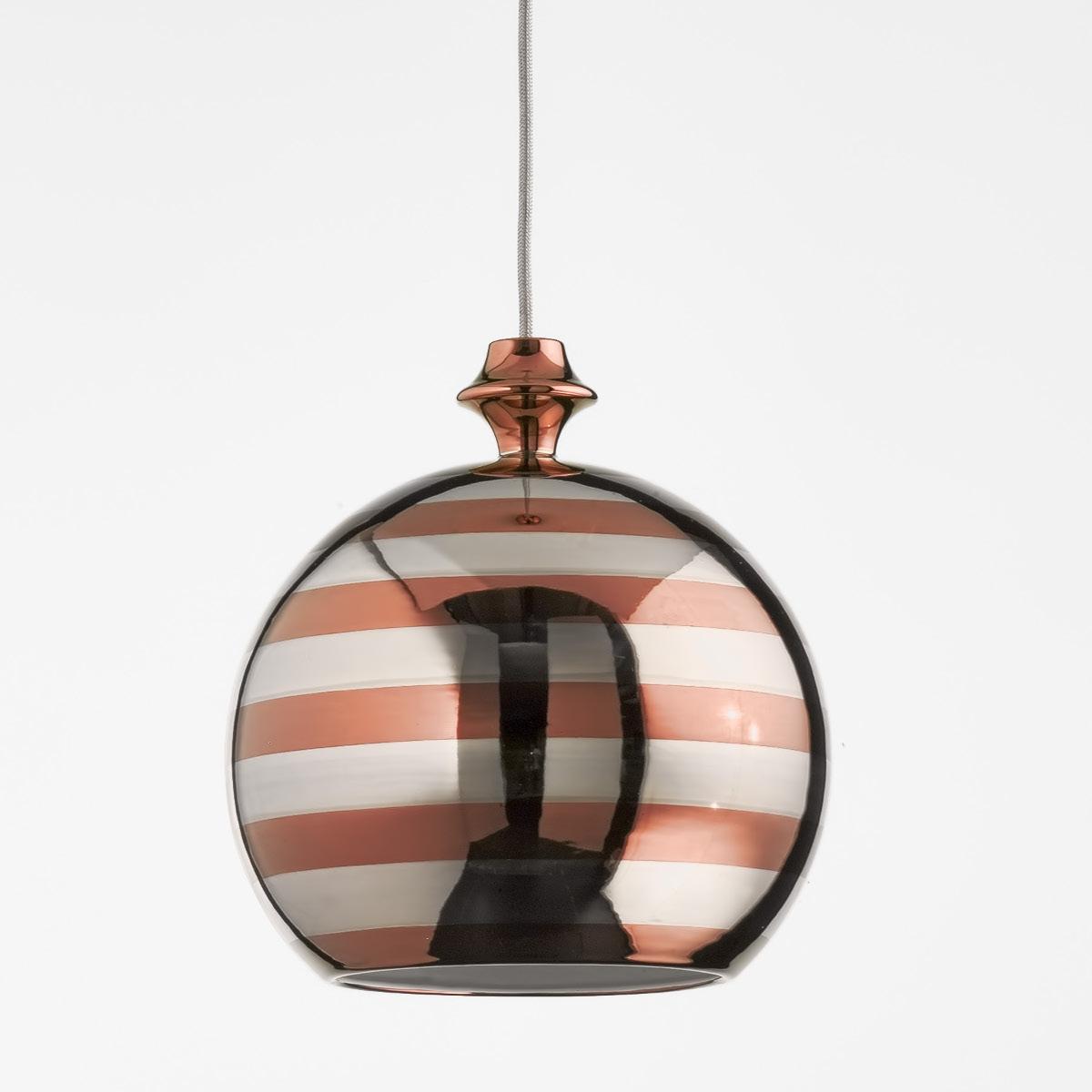 Kugelformige Design Leuchte In Kupfer Gold Oder Platin