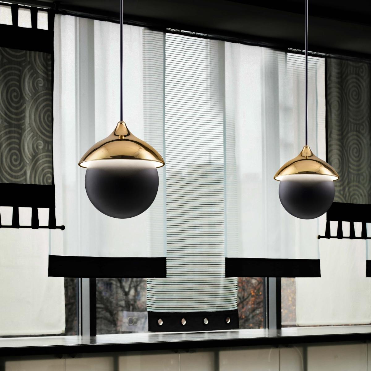 design pendelleuchte aus keramik zur passiven beleuchtung. Black Bedroom Furniture Sets. Home Design Ideas