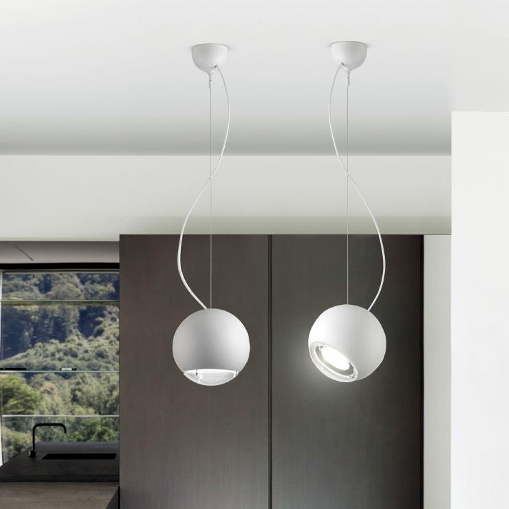 vintage pendelleuchte in keramik mit optionaler oberfl che in kupfer gold oder platin. Black Bedroom Furniture Sets. Home Design Ideas
