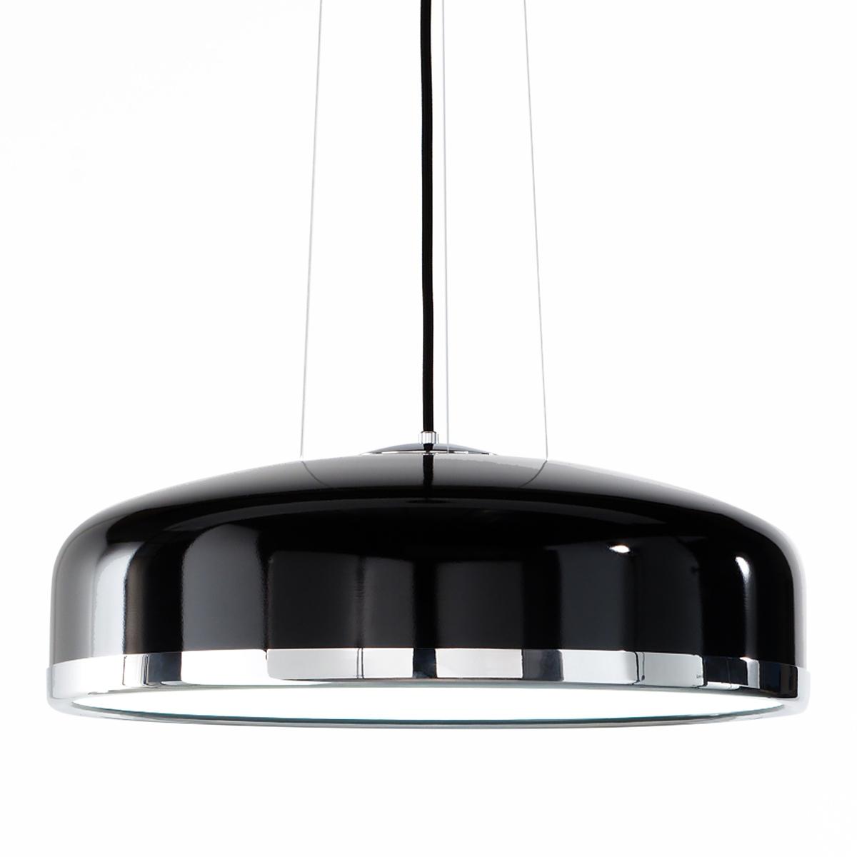 tischpendelleuchte mit gro em schirm im retro stil der 60er jahre. Black Bedroom Furniture Sets. Home Design Ideas