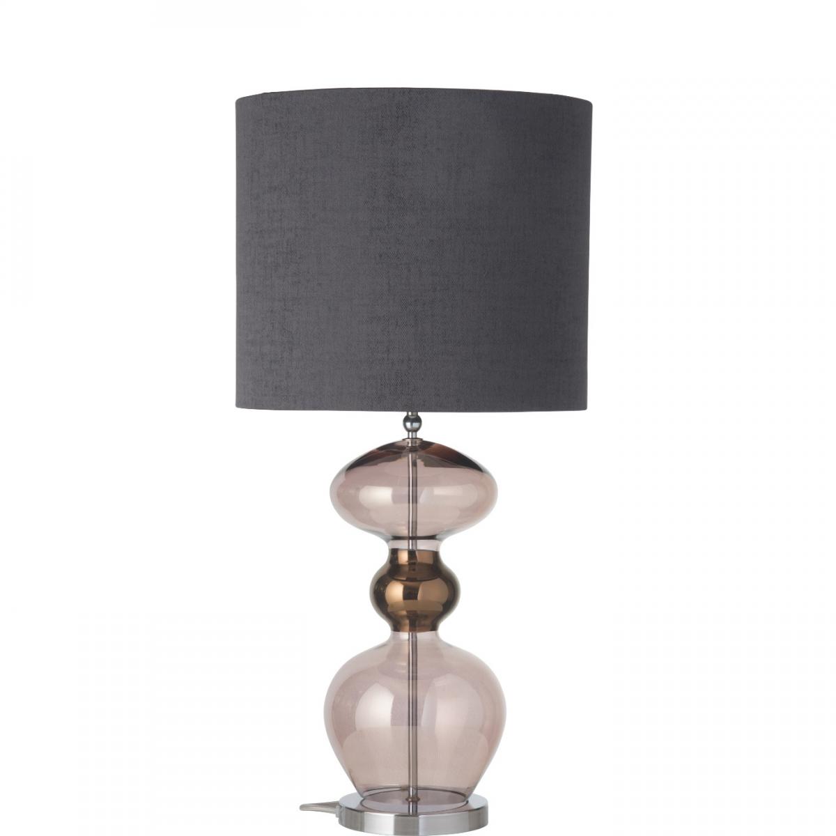 filigrane glas tischlampe. Black Bedroom Furniture Sets. Home Design Ideas