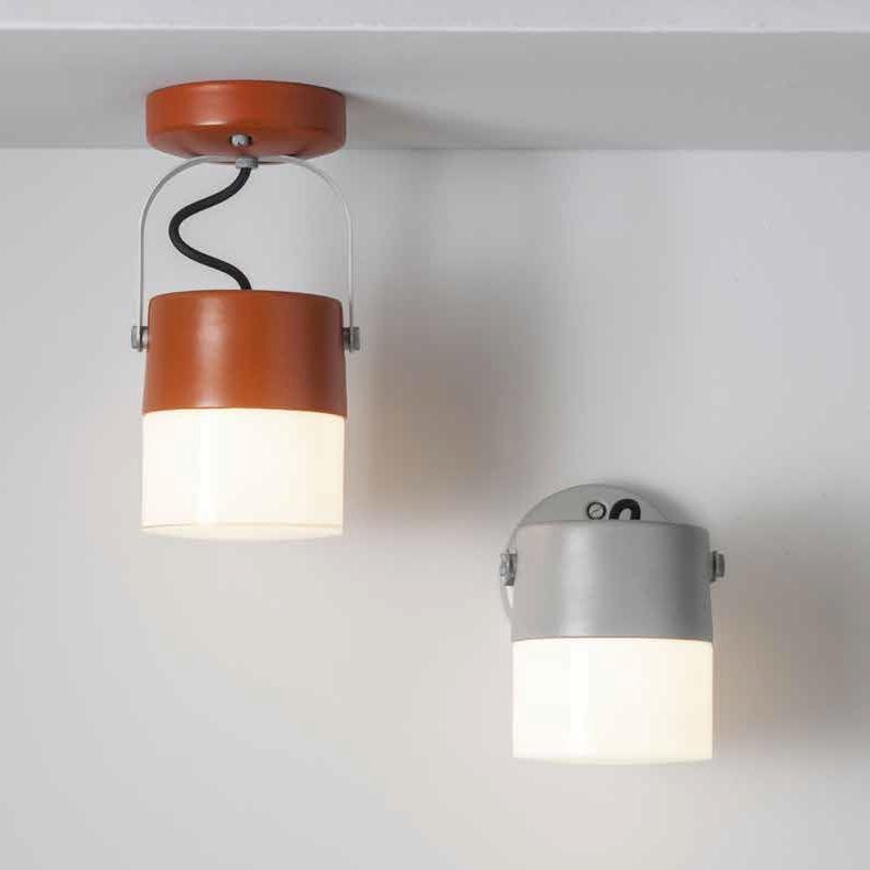wandleuchte und deckenleuchte swing von toscot mit verstellbarem schirm als au enlampe. Black Bedroom Furniture Sets. Home Design Ideas