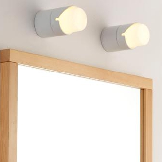 klassische blendfreie wandleuchte f r spiegel und badezimmer. Black Bedroom Furniture Sets. Home Design Ideas