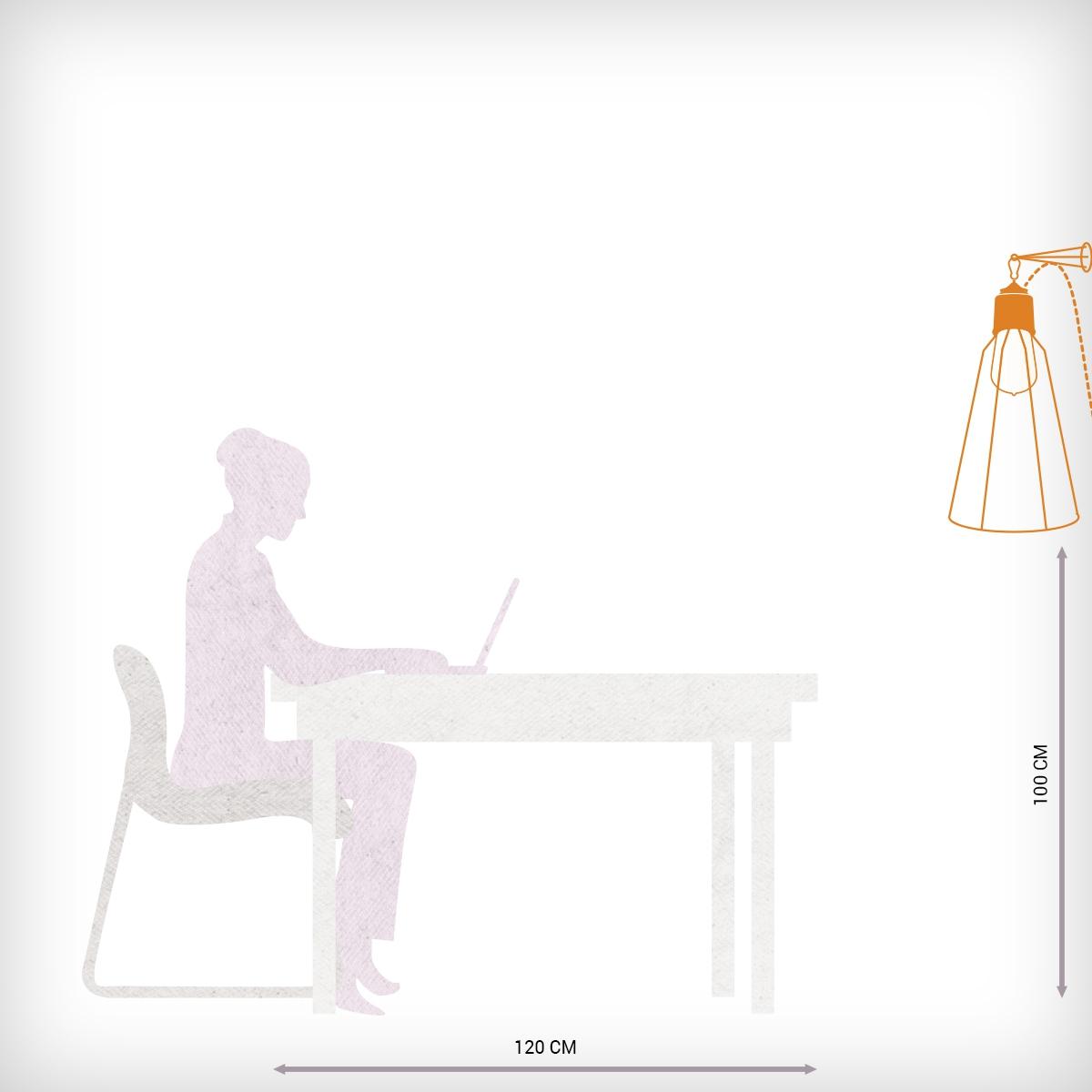 moderne wandleuchte im industriellen design. Black Bedroom Furniture Sets. Home Design Ideas