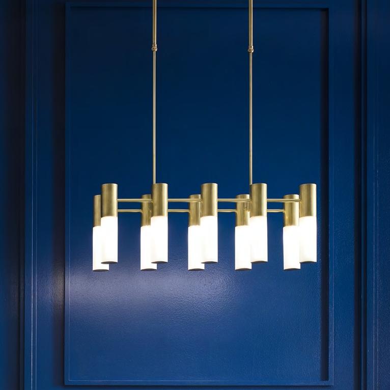 Art-Déco-Leuchter Etoile von Il Fanale