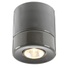 Downlight-Deckenspot in grauer Keramik