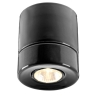 Downlight-Deckenspot in schwarzer Keramik