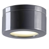 Hoher Downlight-Deckenspot in grauer Keramik