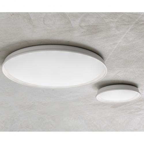 Kleines und großes Modell, Einbau-Leuchte in Weiß