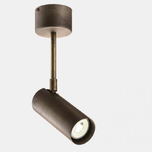 Kleines Modell der Strahlerleuchte in Eisen, Durchmesser 6cm