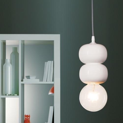 Keramik-Lampe Modell 1, zweistöckig