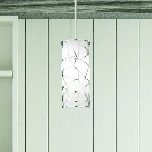 Moderne Zylinder-Leuchte aus Muranoglas