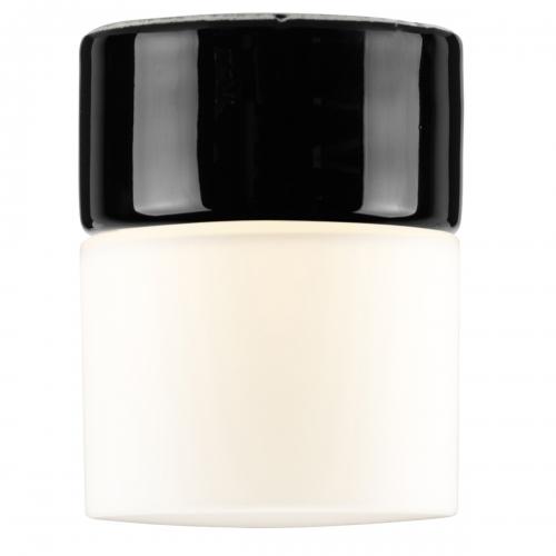 Sauna-Spot in schwarzer Keramik